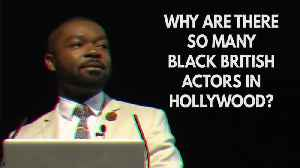 News video: Why Do So Many Black British Actors Go To Hollywood?