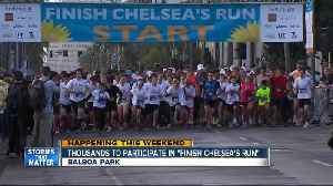 News video: Thousands to take part in 'Finish Chelsea's Run'