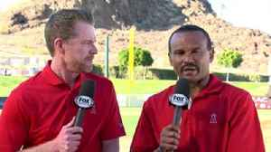 News video: Spring Training Report: Good day for Angels' starting pitchers
