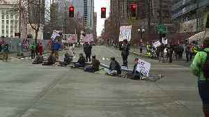 News video: Protesters Block Seattle Streets to Speak Out Against New Juvenile Jail