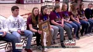 News video: Central Noble Celebrates Girls Hoops Title