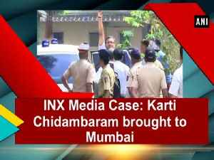 News video: INX Media Case: Karti Chidambaram brought to Mumbai
