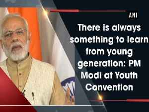 News video: There is always something to learn from young generation: PM Modi at Youth Convention