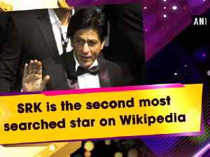 News video: SRK is the second most searched star on Wikipedia