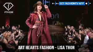News video: New York Fashion Week Fall/Winter 18 19 - Art Hearts Fashion - Lisa Thon | FashionTV | FTV