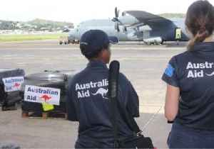 News video: Royal Australian Air Force Delivers Aid to Quake-Stricken Region of Papua New Guinea