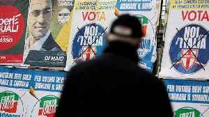 News video: Italy: Decision day after divisive election campaign
