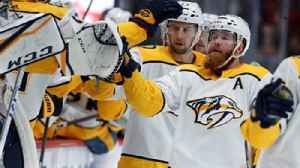 News video: Preds LIVE to Go: Nashville ties franchise record for longest win streak at 8 after 4-3 OT win over Avs