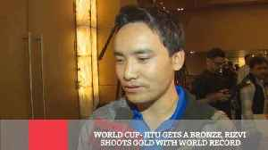 News video: World Cup- Jitu Gets A Bronze, Rizvi Shoots Gold With World Record