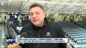 News video: Oakland's NCAA Tournament dreams still within reach at Motor City Madness