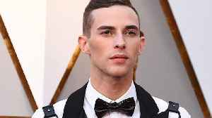 News video: Olympian Adam Rippon wore a bondage harness on the Oscars red carpet