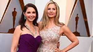 News video: Ashley Judd And Mira Sorvino Team Up For Powerful Message On Oscars Red Carpet