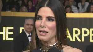 News video: Sandra Bullock Gushes Over 'Lovefest' Text Chain with 'Ocean's 8' Cast (Exclusive)