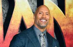 News video: Dwayne The Rock Johnson humbly accepts Razzie Award