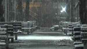 News video: Nor'easter No. 2: East Coast Readies For New Storm