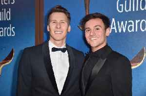 News video: Tom Daley and Dustin Lance Black Reveal Gender of Baby