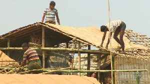 News video: Rohingya refugees at risk of deadly monsoon rains