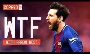 News video: 600 Career Goals For Messi: Is The Treble A Lock? | Walk Talk Football