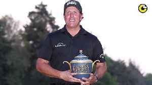 News video: Phil Mickelson's Oscar-deserving performance