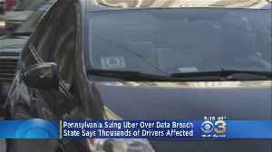 News video: Pa. Attorney General Files Lawsuit Against Uber After Massive Data Breach