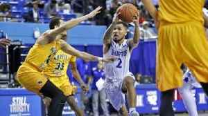 News video: Hampton's Jermaine Marrow on his growth at the point guard position.