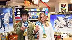 News video: Unicorn Moment! Red Gerard & Jessie Diggins Reveal Their 'Symbols Of Confidence'