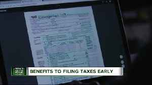 News video: Why it's best not to wait to file your taxes