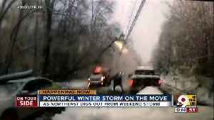 Powerful winter storm on the move [Video]