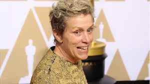 News video: Frances McDormand Briefly Loses Oscar