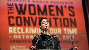 News video: Rose McGowan's Lawyers Want To Toss Out Drug Possession Charges