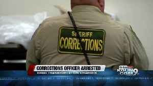 News video: Corrections officer arrested on drug transportation charges
