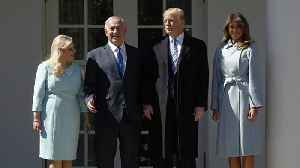 News video: Netanyahu in USA as trouble brews at home