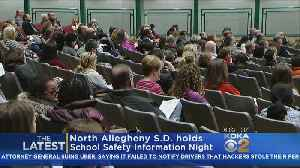 News video: North Allegheny Schools Working To Ease Families' Safety Concerns