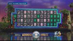 News video: Wheel Of Fortune Puzzle Reminds Everyone 'Eagles Are Super Bowl Champions'