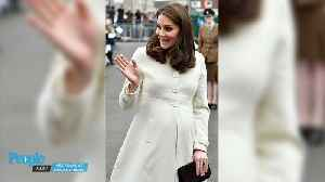 News video: Kate Middleton Steps Out Solo with Just Weeks to Go Before Baby No. 3's Arrival
