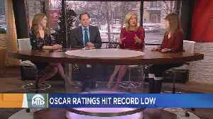 News video: Ouch… Ratings For 90th Academy Awards Hit All-Time Low