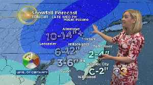 News video: Tuesday Midday Weather Update: Tracking Nor'Easter #2