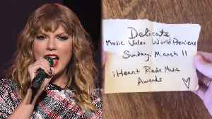 News video: Taylor Swift TEASES New Music Video for THIS Song
