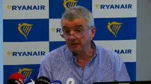 News video: Ryanair warns of holiday disruptions in Portugal & Ireland