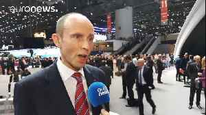 News video: Carmakers mull over diesel's demise at Geneva auto show