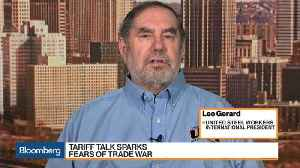 News video: Trump Tariffs a 'Gift' for China, USW's Gerard Says