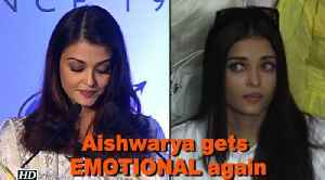 News video: Aishwarya gets EMOTIONAL speaking about her father