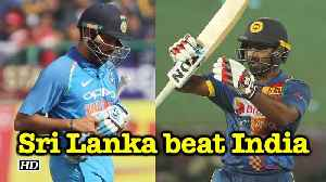 News video: 2018 Nidahas Trophy: Sri Lanka beat India in opening match of Tri-Series