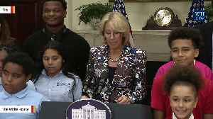 News video: Parkland Students React To Visit From Education Secretary Betsy DeVos