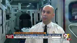 News video: Hamilton paramedics trained to use ketamine