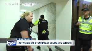 News video: Buffalo to hold active shooter training for community centers, pools and ice rinks