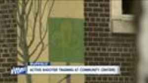 News video: Active shooter training at community centers