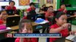 News video: Wimauma elementary school takes first place in national math competition