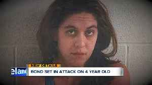 News video: Bond set for mother of 4-year-old girl who was shot by her brother
