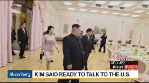 News video: Trump Sees Sign of Progress in Possible Korean Talks